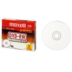 2-4倍速対応DVD-RWメディア(4.7GB・5枚) DRW47PWC. S1P5S A