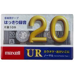カセットテープ 20分 1巻入り UR-20M