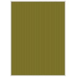 リップルボード[クラフトペーパー](B3ノビサイズ:3シート/オリーブ) RB15