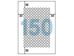OP3018(用紙/シール用/丸型/ミニ/A4/1シート150面/10枚入)