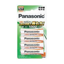 パナソニック(Panasonic) BK-3LLB/4B 充電式エボルタ e 単3形/4本パック(お手軽モデル)