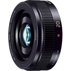 LUMIX G 20mm/F1.7 II ASPH. H-H020A-K ブラック [マイクロフォーサーズ] 標準レンズ
