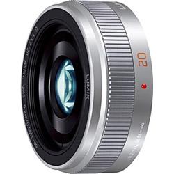 LUMIX G 20mm/F1.7 II ASPH. H-H020A-S シルバー [マイクロフォーサーズ] 標準レンズ