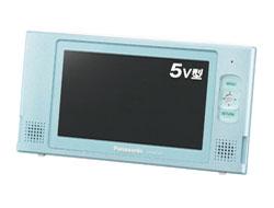 5V型防水ワンセグポータブルテレビ(録画機能搭載) アクアブルー SV-ME580-A   [防水対応]