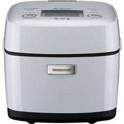 MITSUBISHI(三菱) 炊飯器 備長炭 炭炊釜 白磁(はくじ) NJ-SV06R-W [3.5合 /IH]