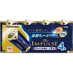LR20HS 4MP 単1電池 The IMPULSE(ザ・インパルス) [4本 /アルカリ]