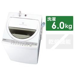 全自動洗濯機 ZABOON(ザブーン) グランホワイト AW-6G9-W [洗濯6.0kg /乾燥機能無 /上開き]
