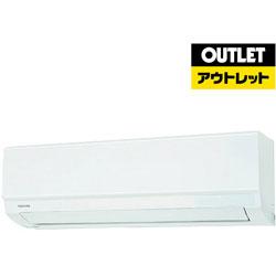 TOSHIBA(東芝) 【外装不良品(外箱のみ)】 RAS-2210TM-W エアコン [おもに6畳用 /単100V 15A]