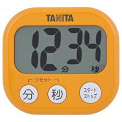 TD-384-OR (アプリコットオレンジ) デジタルタイマー でか見えタイマー