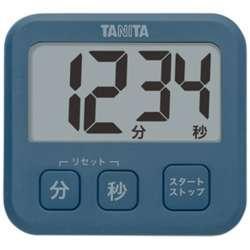 デジタルタイマー 「薄型タイマー」 TD-408-BL ブルー