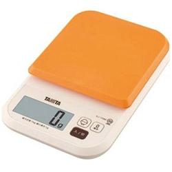 デジタルクッキングスケール (1kg) KJ-110M オレンジ