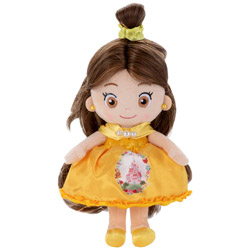 ディズニーキャラクター マイフレンド プリンセス ヘアメイク プラッシュドール キラキラドレスアップ ベル
