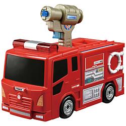 トミカタウン ぴゅぴゅっと消火!おしごと変形消防署
