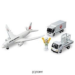 トミカギフト 787エアポートセット(JAL)
