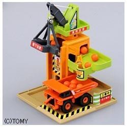 トミカタウン プレイチャージシリーズ 工事現場 タワークレーン