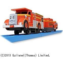 プラレール トーマスシリーズ TS-19 プラレール消防車フリン