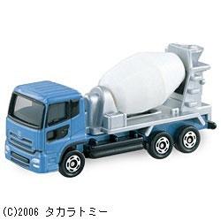 トミカ No.053 日産ディーゼル クオン ミキサー車(サック箱)