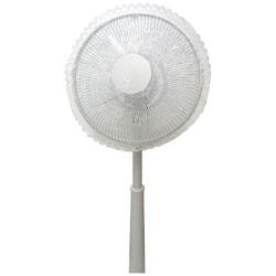 ソフトウインド扇風機カバーレース40cm ホワイト