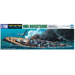 1/700 ウォーターライン 限定 英国海軍 重巡洋艦 ドーセットシャー インド洋セイロン沖海戦