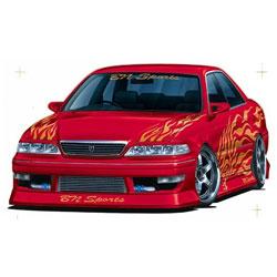 1/24 ザ・チューンドカー No.26 BNスポーツ JZX100マーク2 ツアラー5 1998