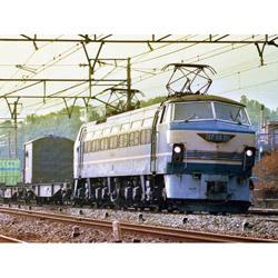 1/45 トレインミュージアムOJ No.5 電気機関車 EF66 前期型 プラモデル
