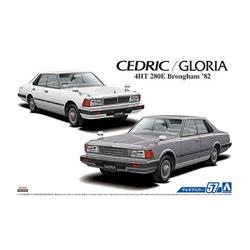1/24 ザ・モデルカー No.57 ニッサン P430 セドリック/グロリア4HT280Eブロアム'82