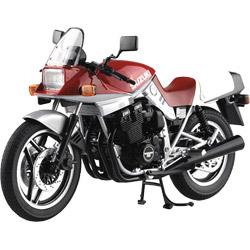 アオシマ 1/12 完成品バイク SUZUKI GSX1100S KATANA SE(赤/銀)