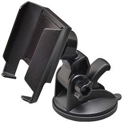 スマートフォン用[幅 〜90mm] 吸盤スマートホルダー2 ブラック W919