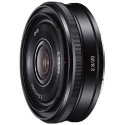SONY(ソニー) E20mm F2.8 SEL20F28 [ソニーEマウント(APS-C)] 広角レンズ