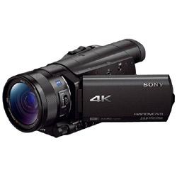 メモリースティック/SD対応4Kビデオカメラ FDR-AX100   FDR-AX100 [4K対応]