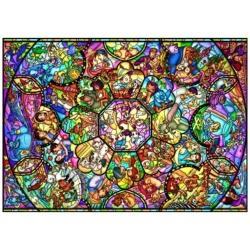 ジグソーパズル DPG-266-563 ディズニー キャラクター オールスターステンドグラス