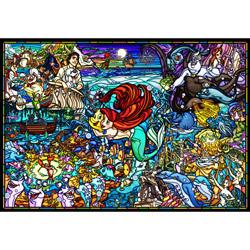 ジグソーパズル DP-1000-033 リトル・マーメイド ストーリー ステンドグラス