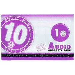 カセットテープ 10分 1本 VD107
