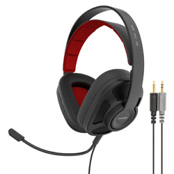ゲーミングヘッドセット GMR545AIR ブラック [φ3.5mmミニプラグ /両耳 /ヘッドバンドタイプ]