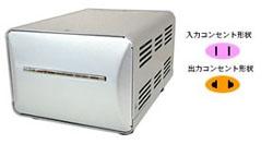【クリックで詳細表示】【在庫限り】 TI-37 アップ/ダウントランス 【AC220~240V:2000W/AC100V(日本国内):1500W】