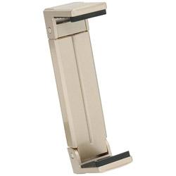 タブレット/iPad対応[固定幅123〜210mm 厚み22mm以内] 三脚用タブレットホルダー「Luvipod(ラビポッド)」 TH1(サンディゴールド)