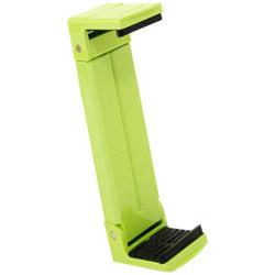 タブレット/iPad対応[固定幅123〜210mm 厚み22mm以内] 三脚用タブレットホルダー「Luvipod(ラビポッド)」 TH1(アップルグリーン)