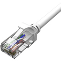 1m LANケーブル UTP C6 HLC-C6-1MP ホワイト [カテゴリー6]