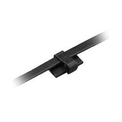 スリムフラットクランプ ブラック(10個入り) HLA-C-SFG-BK