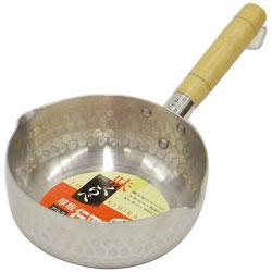 味くらべ 厚板アルミ行平鍋 ガス火(18cm) H-1426
