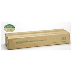 ポスタープリンター用 直接感熱紙 PP DIP W BK 594MMX30.3M 2K 白地黒発色 [30.3m]