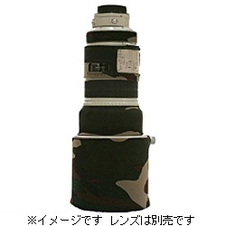 望遠レンズカバー(キヤノン EF300mm F2.8L IS 用/フォレストグリーン・ウッドランドカモ)