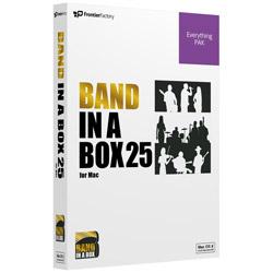 〔Mac版/2.5インチHDD〕 Band-in-a-Box 25 EverythingPAK PGBBPEM111 [Mac用]