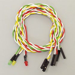 LED-03MS (ケース用LED 丸型φ3 3色セット)