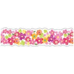 ナミナミマスキングテープ プチ・フラワー・レッド TM00317[生産完了品 在庫限り]