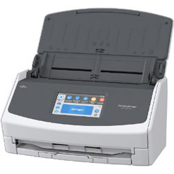 FUJITSU(富士通) ScanSnap iX1500 A4スキャナ[600dpi・無線LAN/USB3.1] FI-IX1500-P(2年保証モデル・ホワイト)