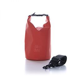 2WAY WATER PROOF DRY BAG 2L IP67取得 アウトドア・マリンスポーツ・トラベルなどに最適 OWL-WPBAG01-RE レッド