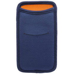 スマートフォン対応[幅 81mm/5.5インチ] カードポケット付 マルチスリーブケース ネイビー OWL-MPSP5501-NV