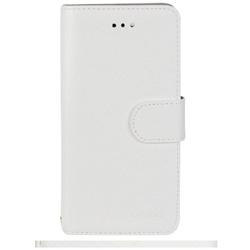 25d12ec884 iPhone 7用 kuboq 手帳型ケース 鏡付き PU カードポケット付 スタンド機能 ホワイト OWL-CVIP710M-WH