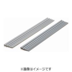 プラ=パイプ(グレー) 肉厚 外径7.5mm